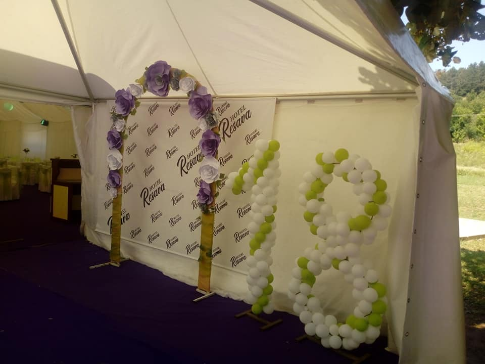 Hotel Resava - šator